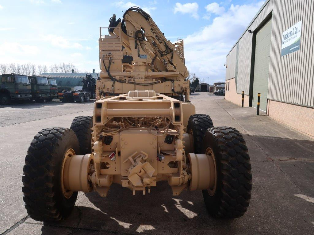 Iveco Trakker 8x8 with Armoured Cab   used military vehicles, MOD surplus for sale