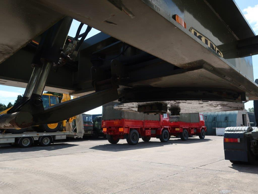 King GTL 93/5HS 5 Axle Low Loader Trailer | used military vehicles, MOD surplus for sale