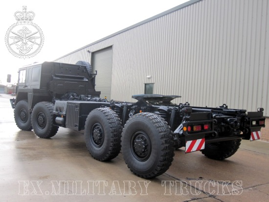 MAN CAT A1 Military  8x8 Tractor units  for sale. The UK MOD Direct Sales