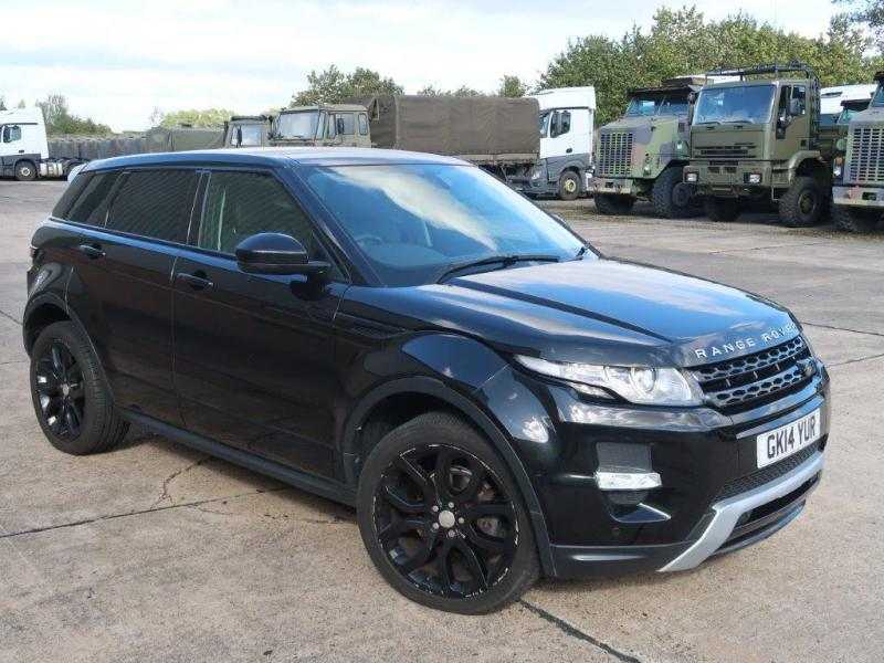 Land Rover Range Rover Evoque 2.2 SD4 Dynamic | used military vehicles, MOD surplus for sale