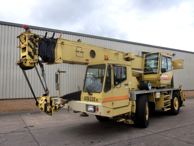 Grove AT422 EX all terrain crane for sale | military vehicles