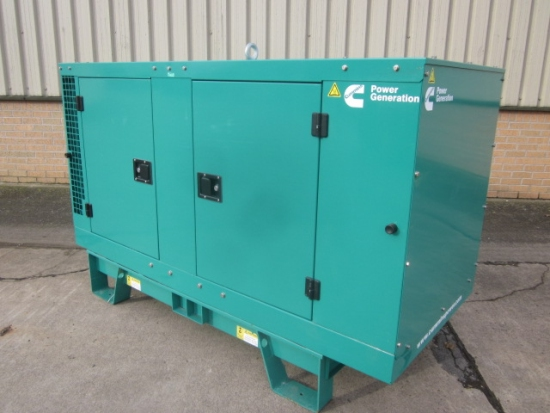 New Cummins 13.2  kva single phase Diesel Generator
