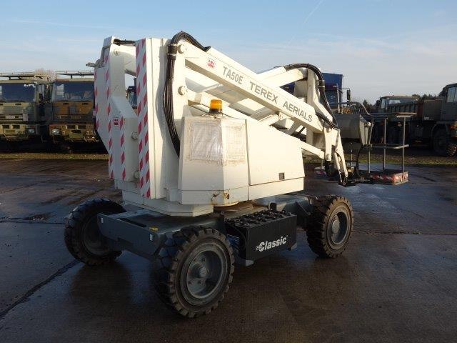 Terex TA50E boom lift | used military vehicles, MOD surplus for sale