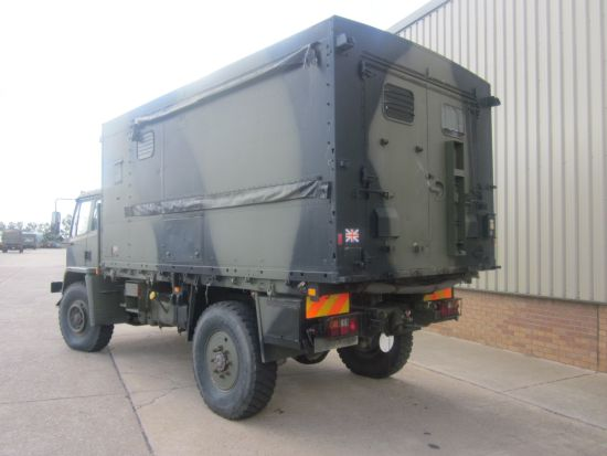 Leyland Daf 4x4 workshop truck  for sale . The UK MOD Direct Sales