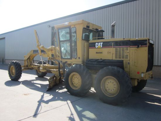 Caterpillar 12 H motor grader  for sale. The UK MOD Direct Sales