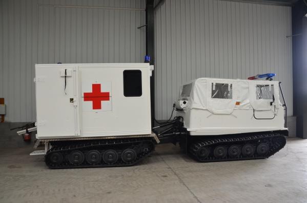 Hagglund Bv206  soft top ambulance for sale