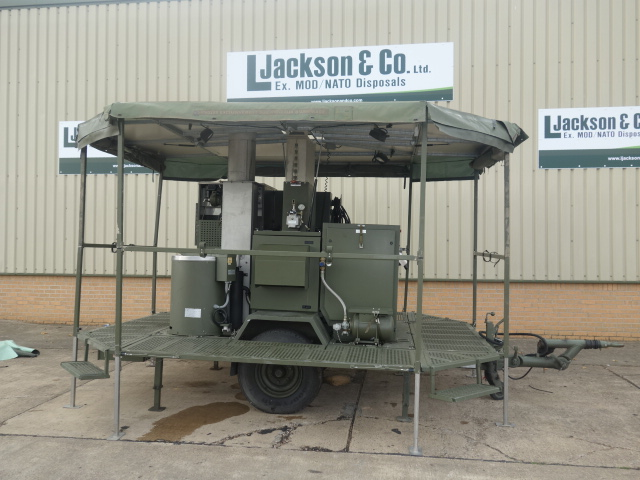 SERT RLS2000 Field Laundry Trailers | used military vehicles for sale