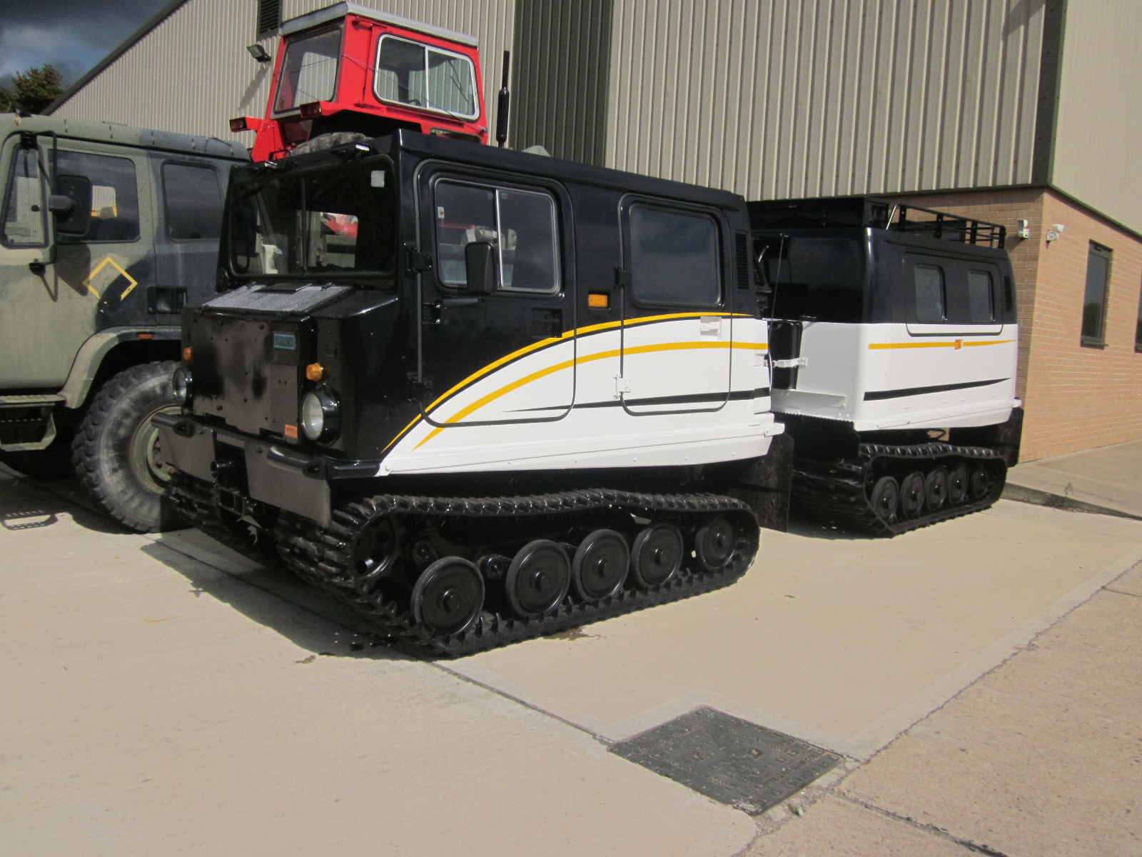 Hagglund BV206 Personnel Carrier (New Turbo Diesel ) for sale