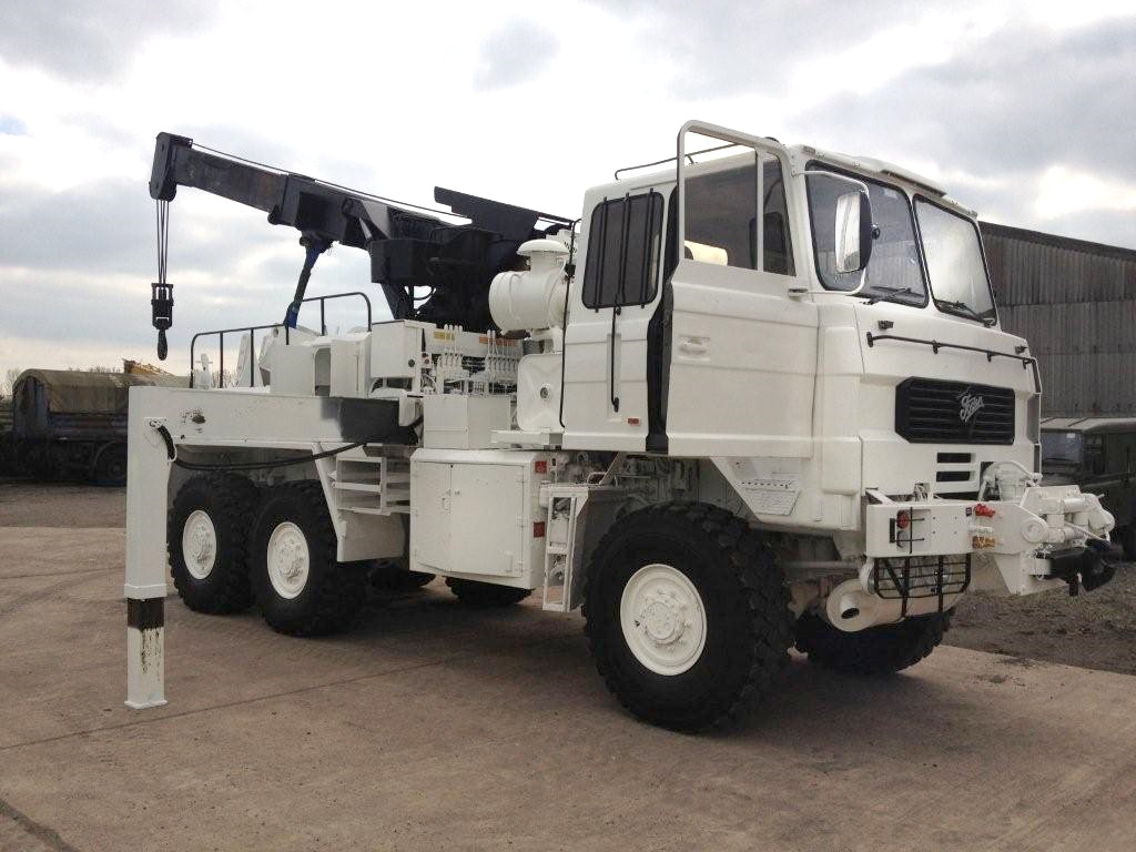 Foden 6x6 recovery truck | Military Land Rovers 90, 110,130, Range Rovers, Mercedes for Sale