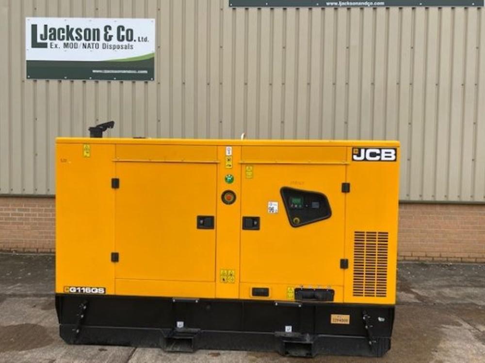 Unused JCB 110 KVA Silent Generators