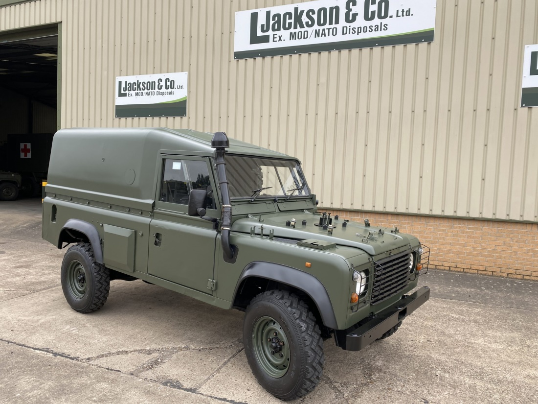 Land Rover Defender Wolf 110 (REMUS) RHD Hard Top | Military Land Rovers 90, 110,130, Range Rovers, Mercedes for Sale