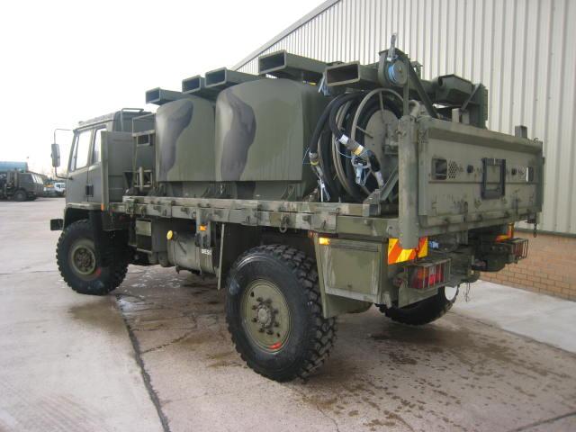 Leyland DAF T45 4x4  bunded tanker - RHD  for sale