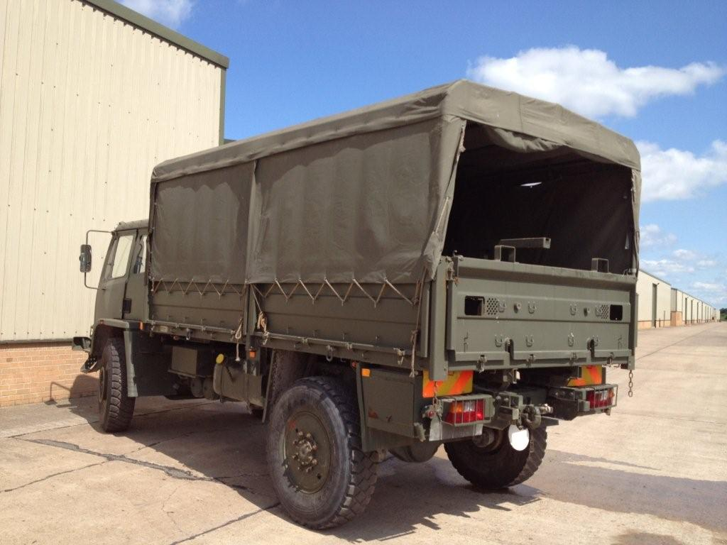 Leyland Daf T45 4x4 Personnel Carrier / shoot vehicle with Canopy & Seats  for sale . The UK MOD Direct Sales