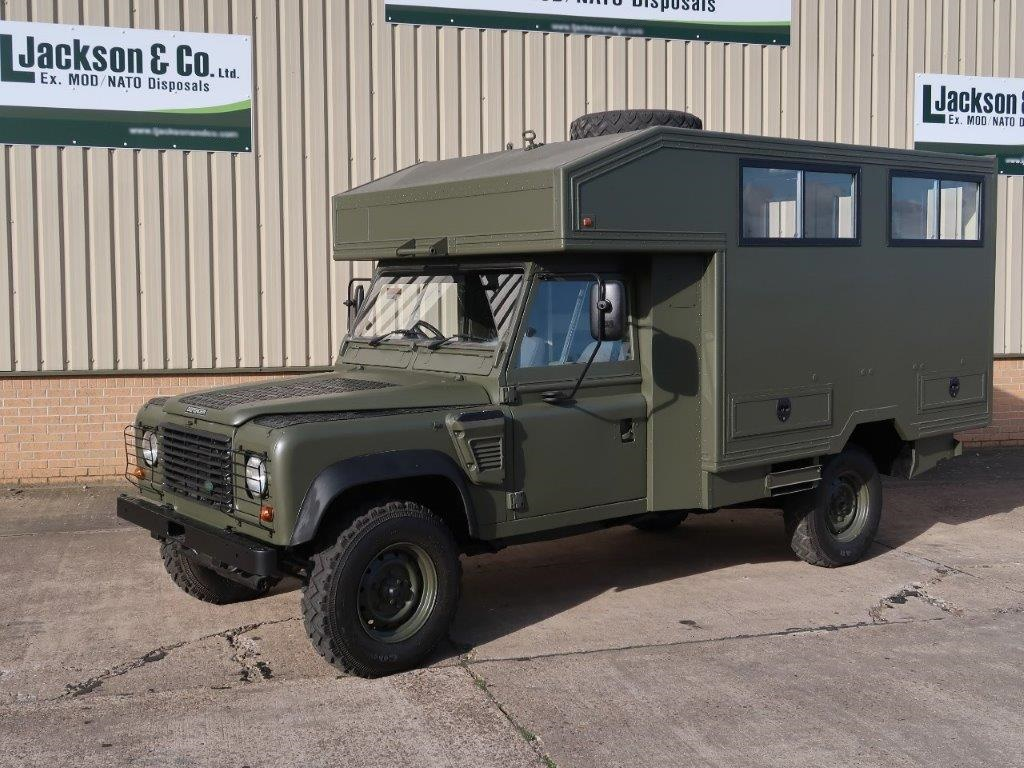Land Rover Defender 130 Wolf Gun Bus for sale | military vehicles