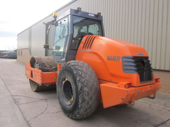 WAS SOLD Hamm 3412Vibratory Smooth Drum Roller