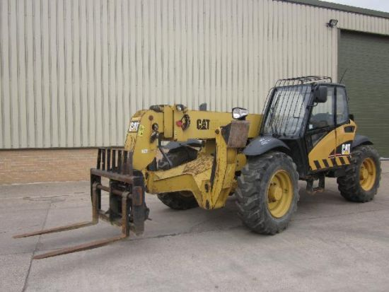Caterpillar TH 355B teleporter | used military vehicles, MOD surplus for sale