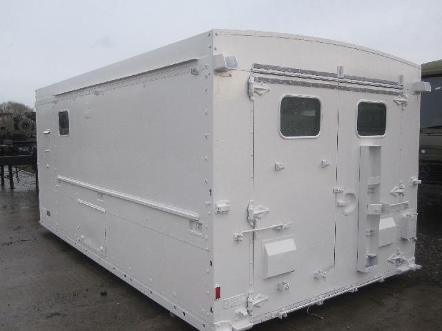 De - mountable workshop body for sale | military vehicles