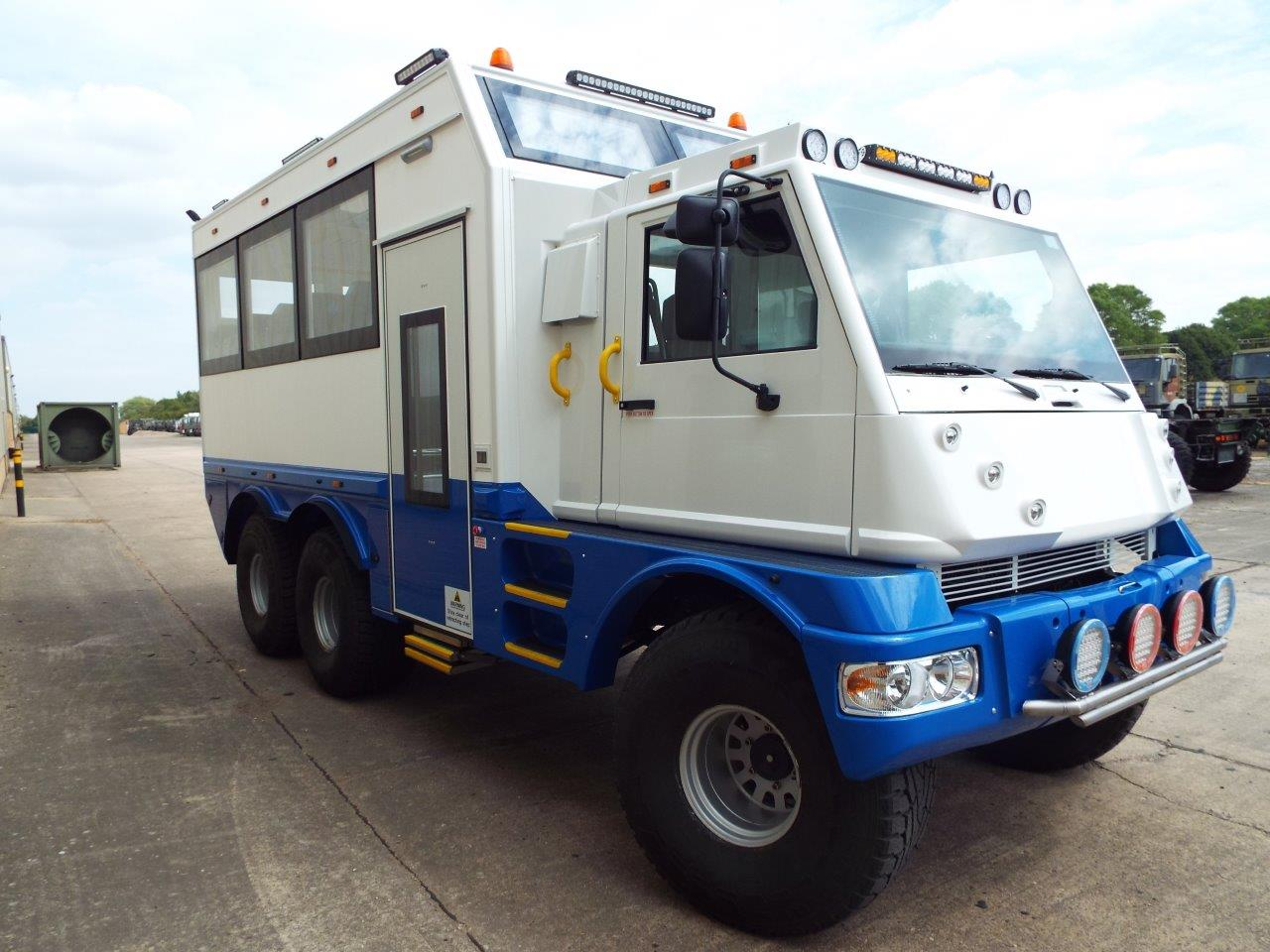 MOWAG Duro II 6x6 Ice Overlander bus for sale