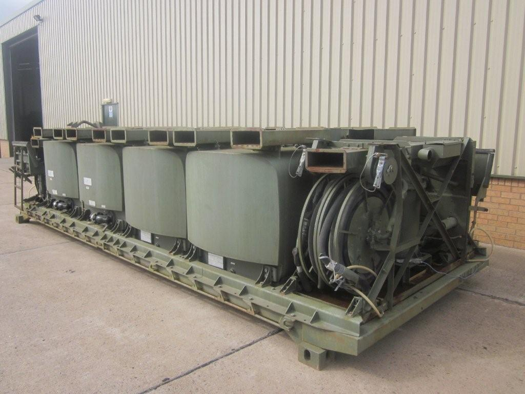 Drops flat racks pallet fitted with ubre fuel system for sale | military vehicles