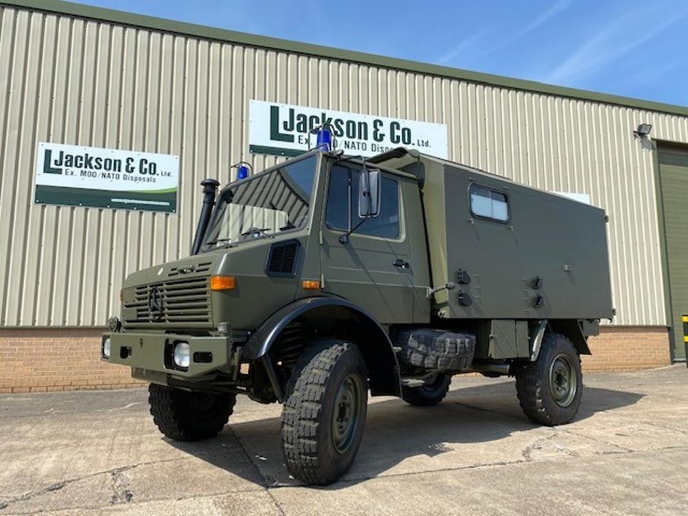 Mercedes Unimog U1300L Ambulance turbo for sale | military vehicles