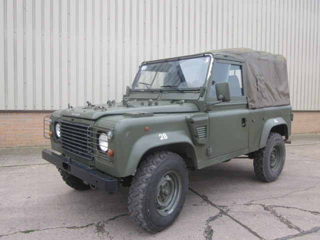 Land Rover Defender 90 RHD Wolf Soft Top (Remus) for sale