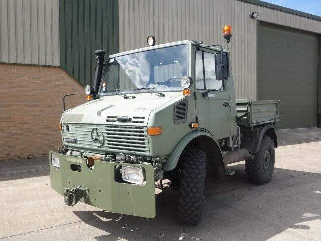 WAS SOLD Mercedes Unimog 427/10 (U1200) 4X4