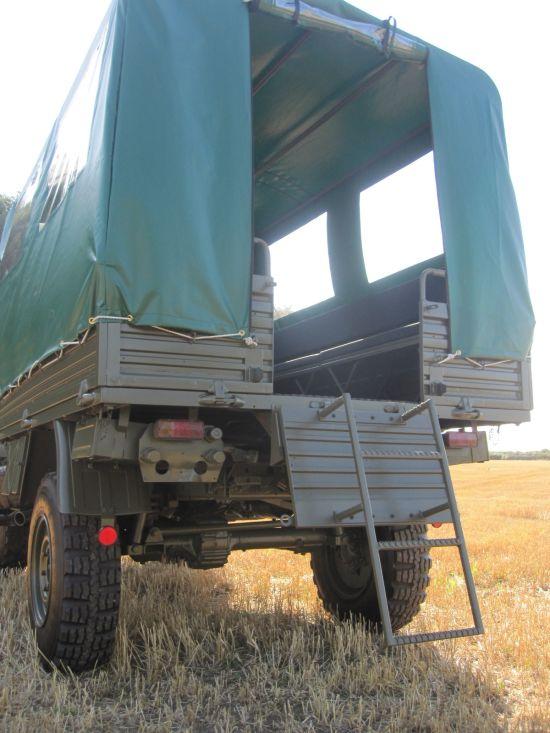Mercedes Unimog U1300L 4x4 Shoot Vehicle   used military vehicles, MOD surplus for sale