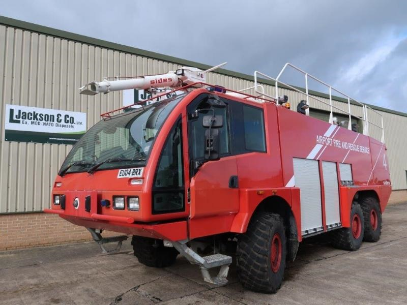 Sides VMA 112 6x6 Airport Crash Tender price