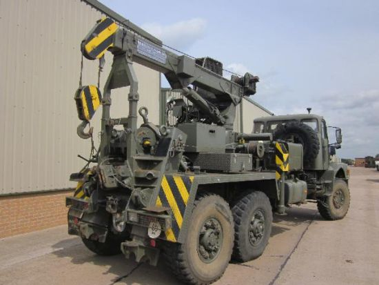 Volvo N10 6x6 recovery truck | used military vehicles for sale