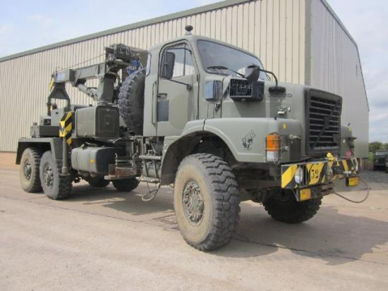 Volvo N10 6x6 recovery truck Ex military vehicles for sale, Mod Sales, M.A.N military trucks 4x4, 6x6, 8x