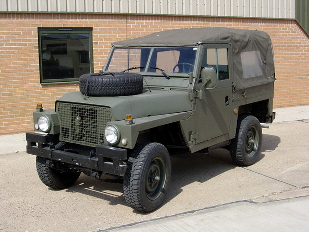Land Rover Series III 88 Ex military