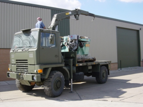 Bedford TM 4x4 Cargo with Atlas Crane  for sale . The UK MOD Direct Sales