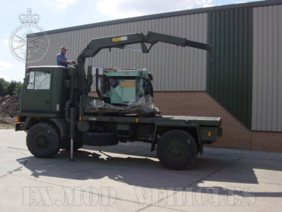 Bedford TM 4x4 Cargo with Atlas Crane for sale
