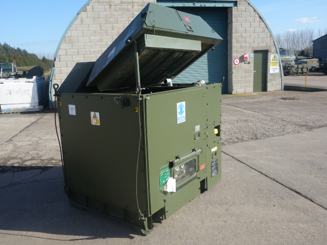 Hunting 25 kva diesel generator  for sale. The UK MOD Direct Sales