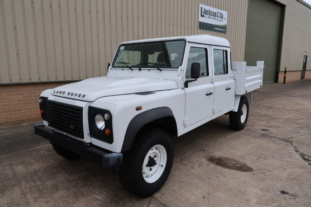 Land rover 130 LHD double cab for sale | military vehicles