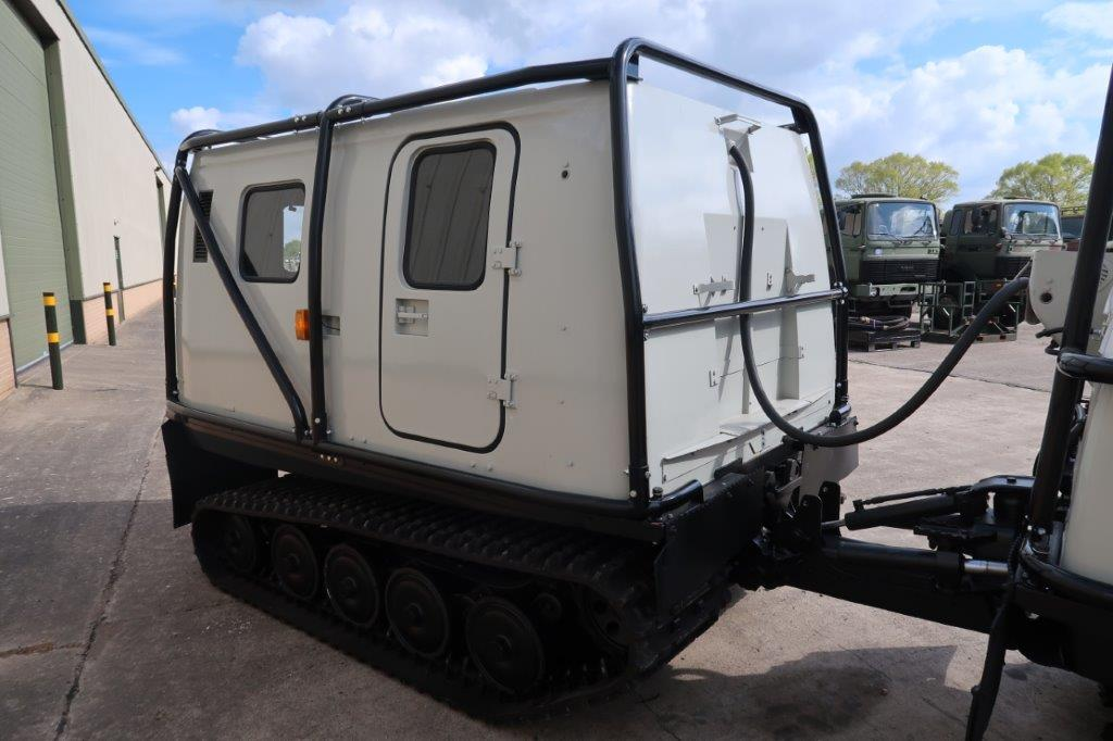 Hagglund BV 206 Soft Top Personnel Carrier With Roll Cage   used military vehicles, MOD surplus for sale