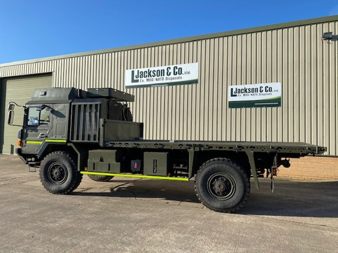 Unused MAN HX60 4x4 Cargo Truck road registered   used military vehicles, MOD surplus for sale