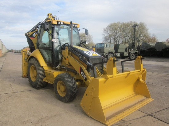 WAS SOLD Caterpillar 432E   Back hoe Wheeled loader