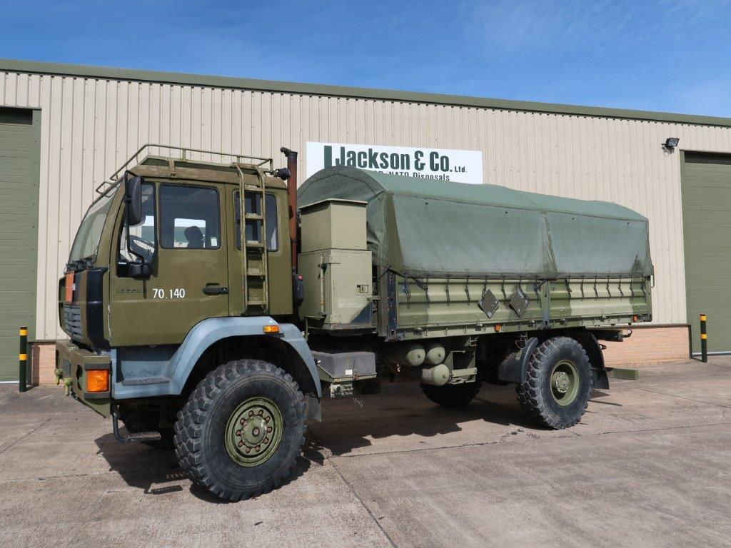 MAN 18.225 4x4 Cargo Truck | used military vehicles, MOD surplus for sale