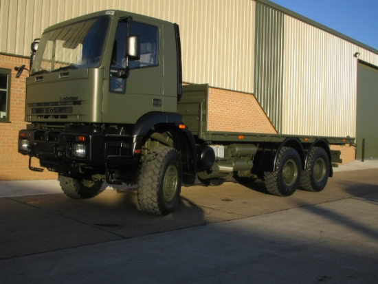 Iveco 260E37 EuroTrakker   6x6 cargo flat bed trucks | used military vehicles for sale
