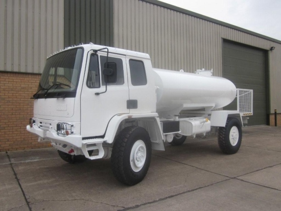 Leyland DAF 45.150 4x4 RHD tanker truck | used military vehicles for sale