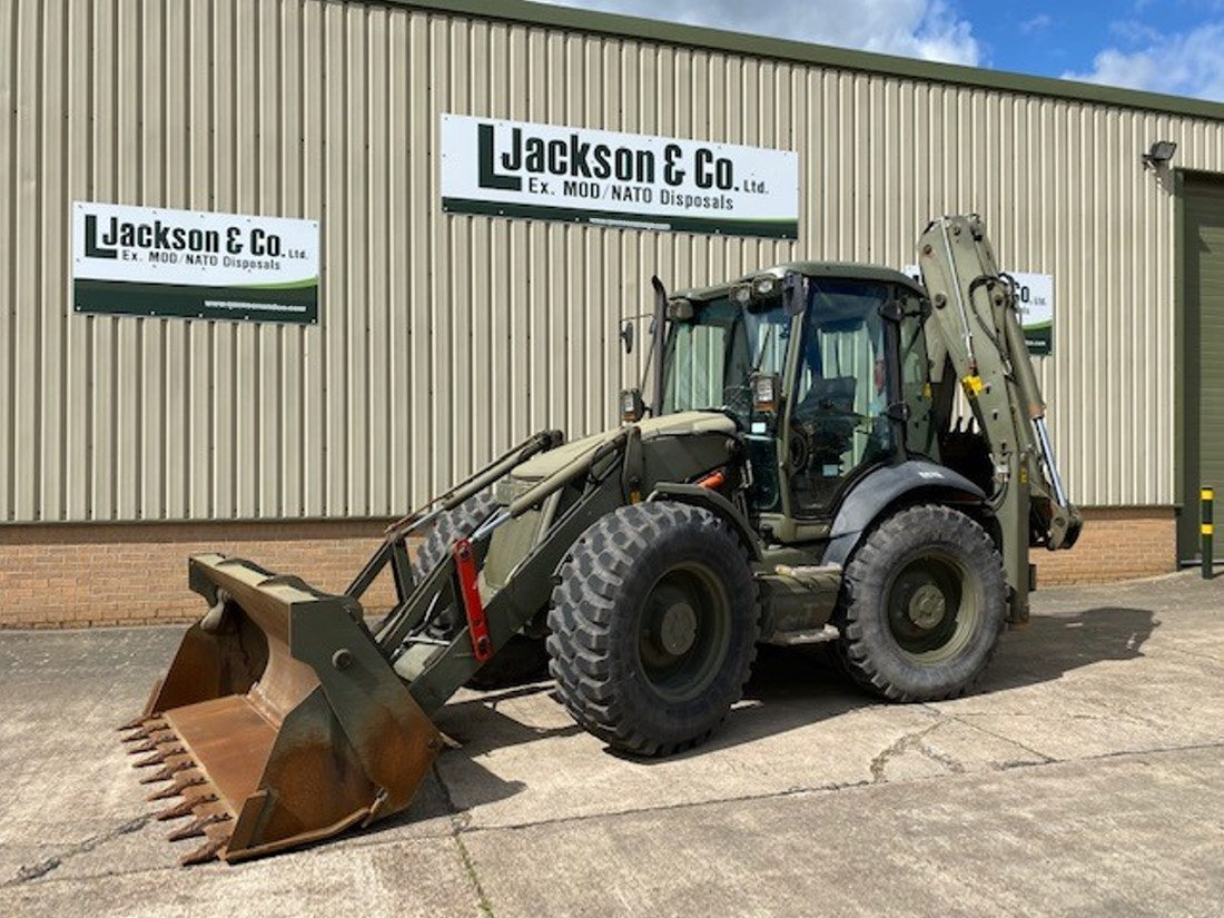 JCB 4CX Sitemaster Backhoe Loaders 50436 for sale | military vehicles