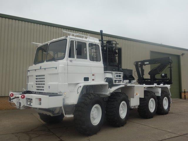 Foden 8x6 Container Carriers truck with crane