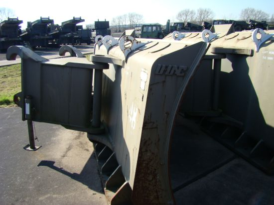 Caterpillar Wheeled dozer  972G Armoured Plant | used military vehicles, MOD surplus for sale