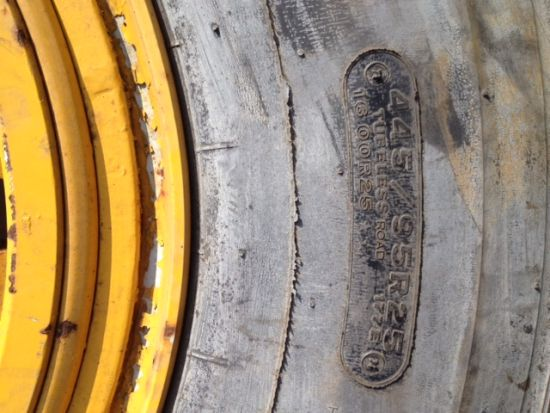 Bridgestone 445/95R25 (For Grove Crane) for sale