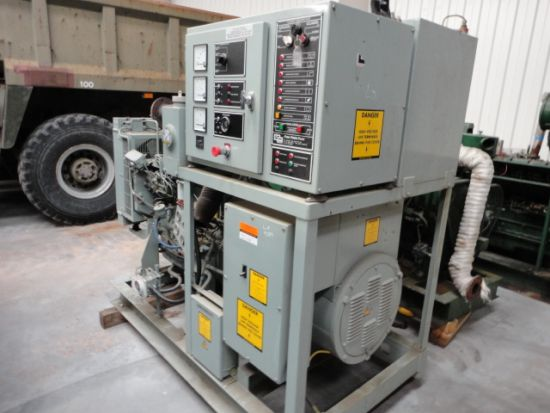 WAS SOLD Puma 100 KVA skid mounted diesel  generator
