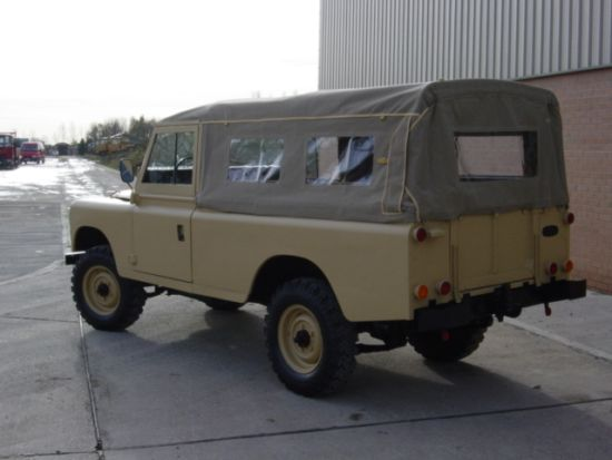 land rover series iii 109 lhd lwb soft tops petrol for sale mod direct sales. Black Bedroom Furniture Sets. Home Design Ideas