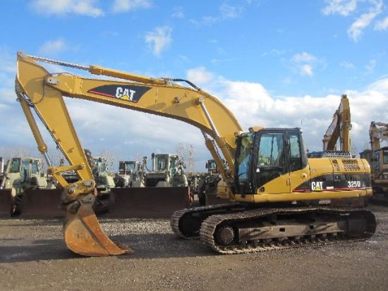 Caterpillar 325 DL  tracked excavator price