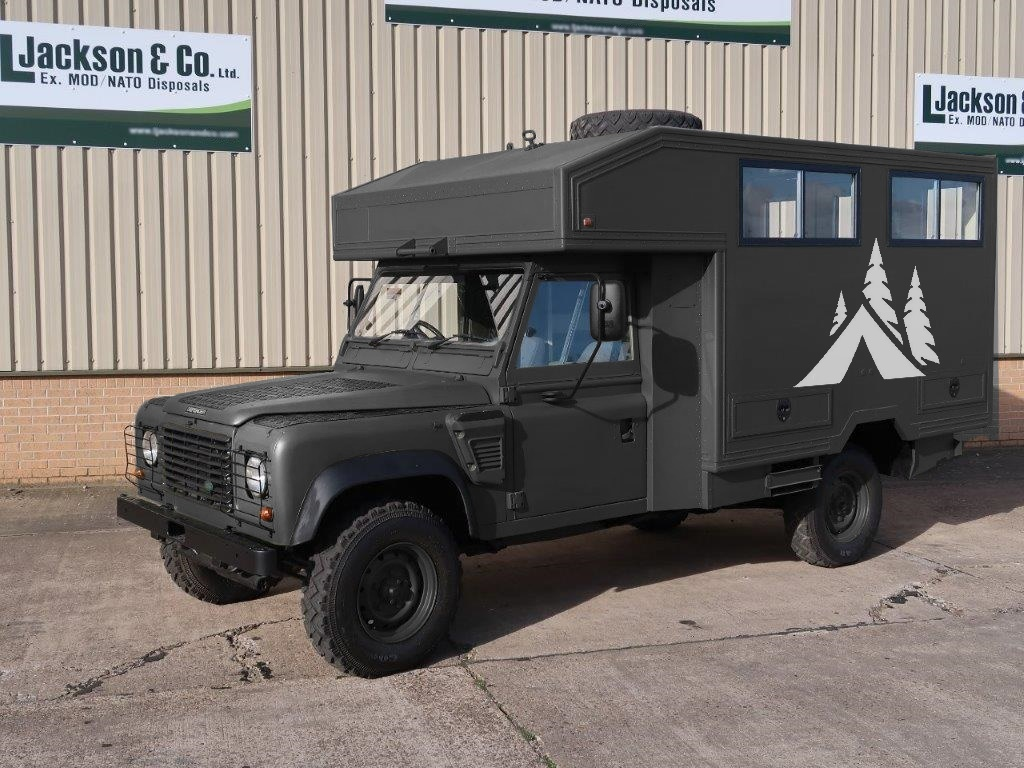 Land Rover Defender 130 Wolf 4x4 passenger van | used military vehicles, MOD surplus for sale