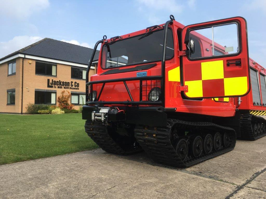 Hagglunds BV206 ATV Fire Engine (Fire Chief) | Military Land Rovers 90, 110,130, Range Rovers, Mercedes for Sale